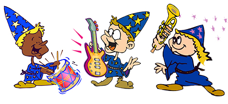 Wizard rockers